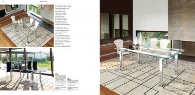 Brands Unico Tables and Chairs, Italy LUX
