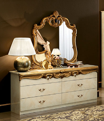 Barocco Ivory w/Gold, Camelgroup Italy, Classic Bedrooms, Bedroom ...