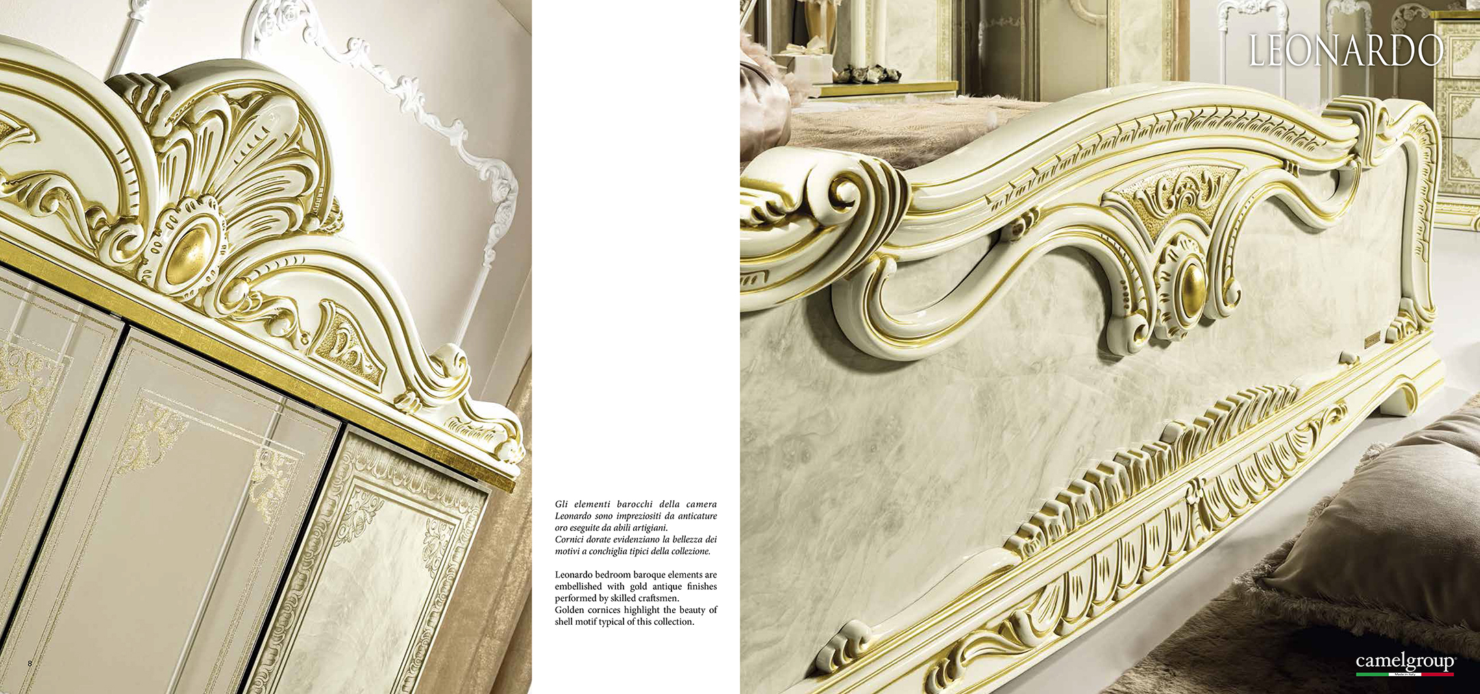 Leonardo Bedroom Camelgroup Italy Classic Bedrooms