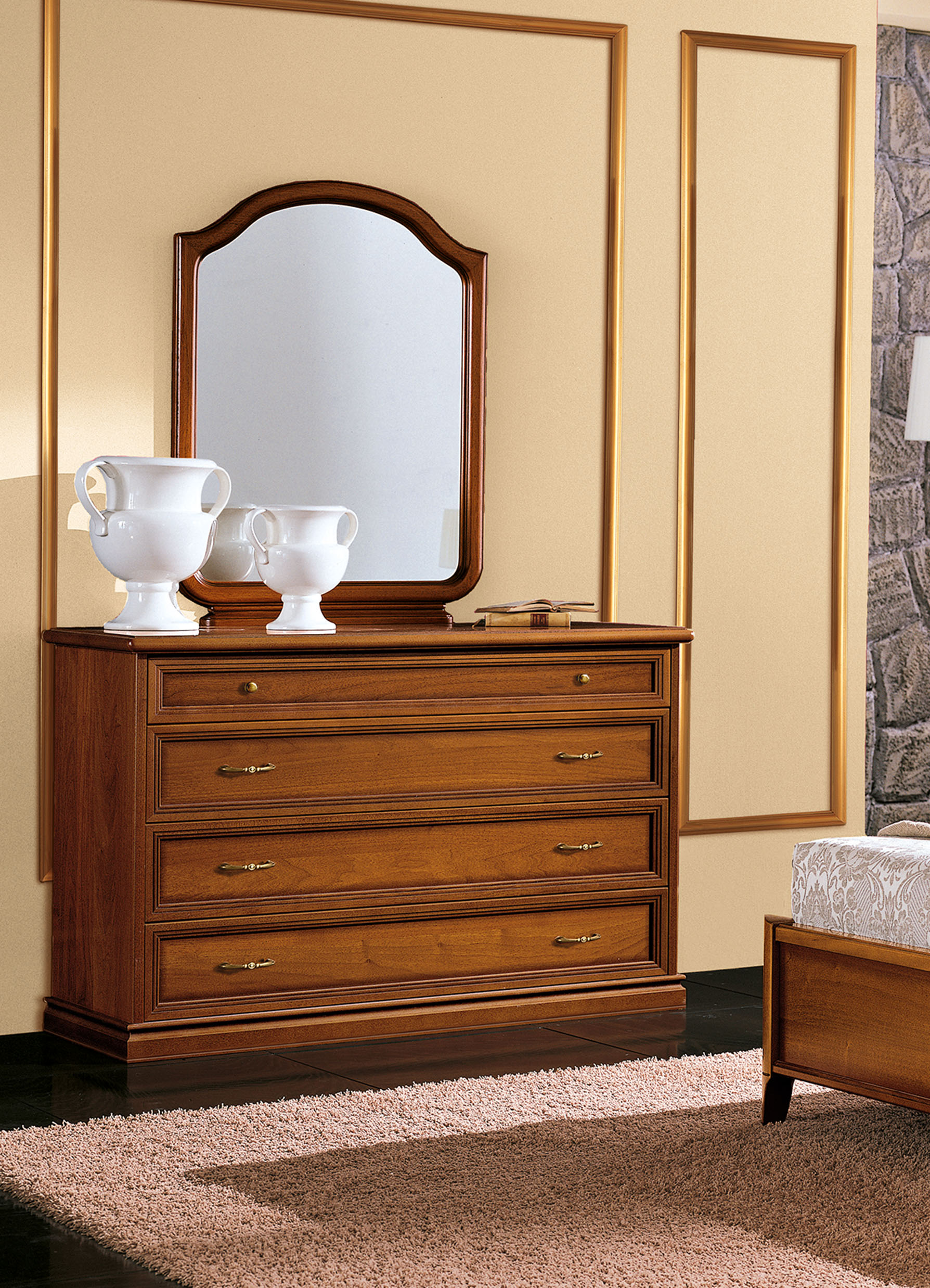 modus espresso clearance nevis mdf finish dresser image furniture only main drawer zoomed