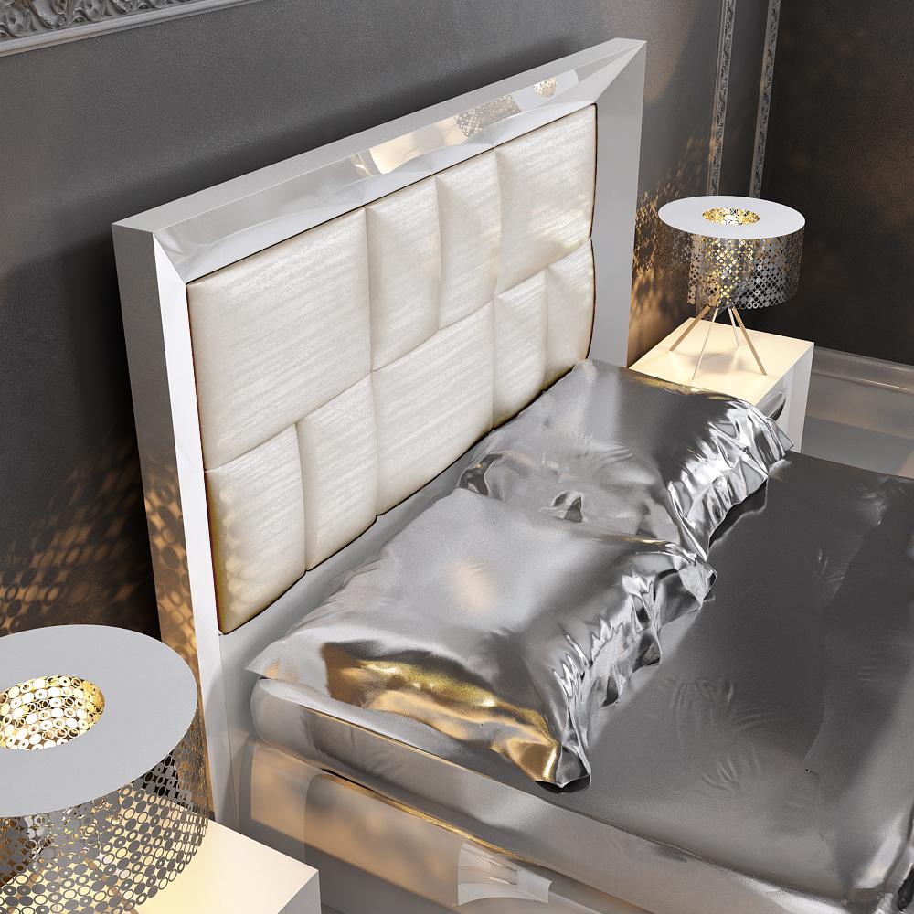 Contemporary Furniture Bedroom: Carmen White, Modern Bedrooms, Bedroom Furniture