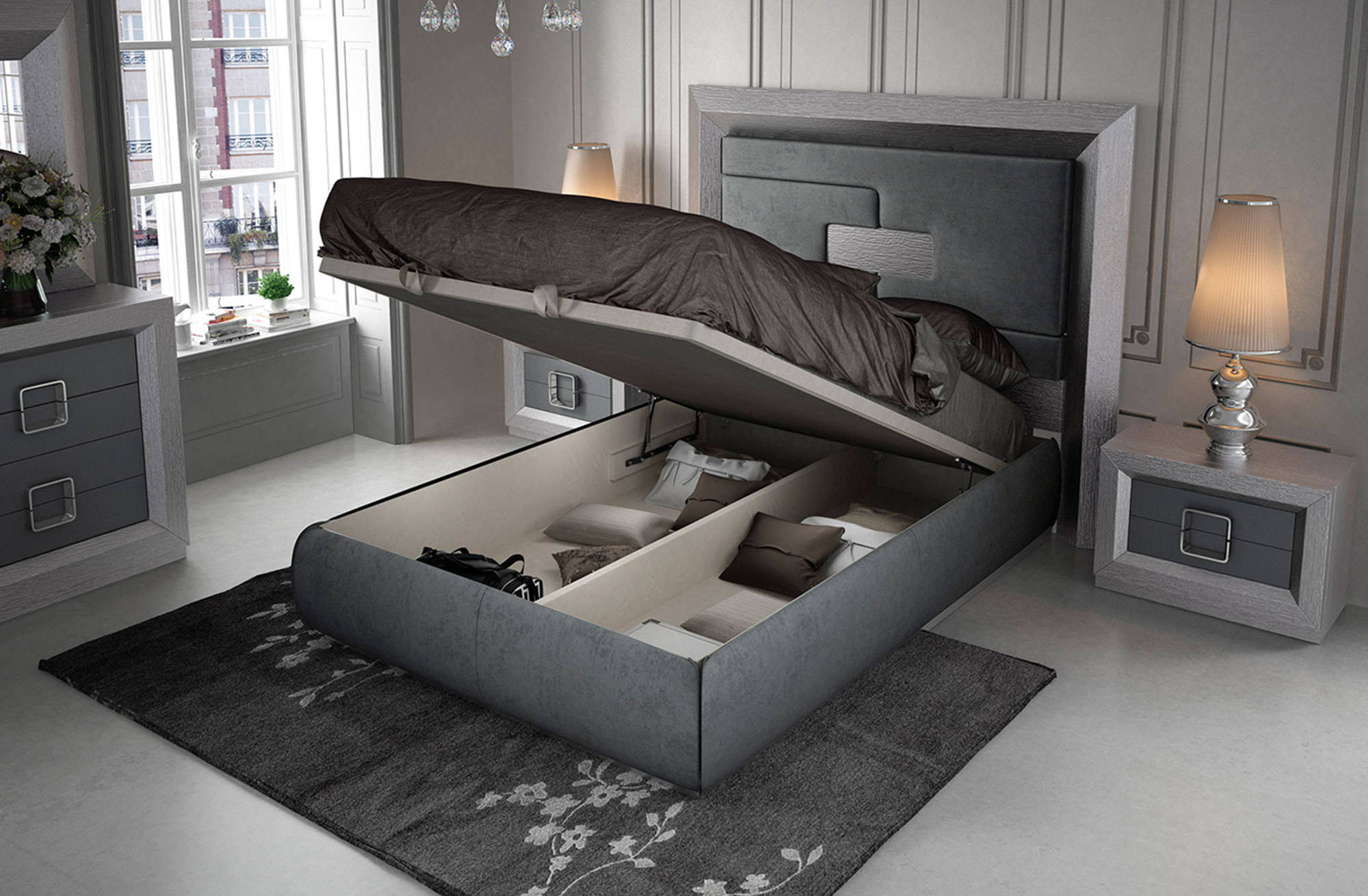 Enzo, Modern Bedrooms, Bedroom Furniture