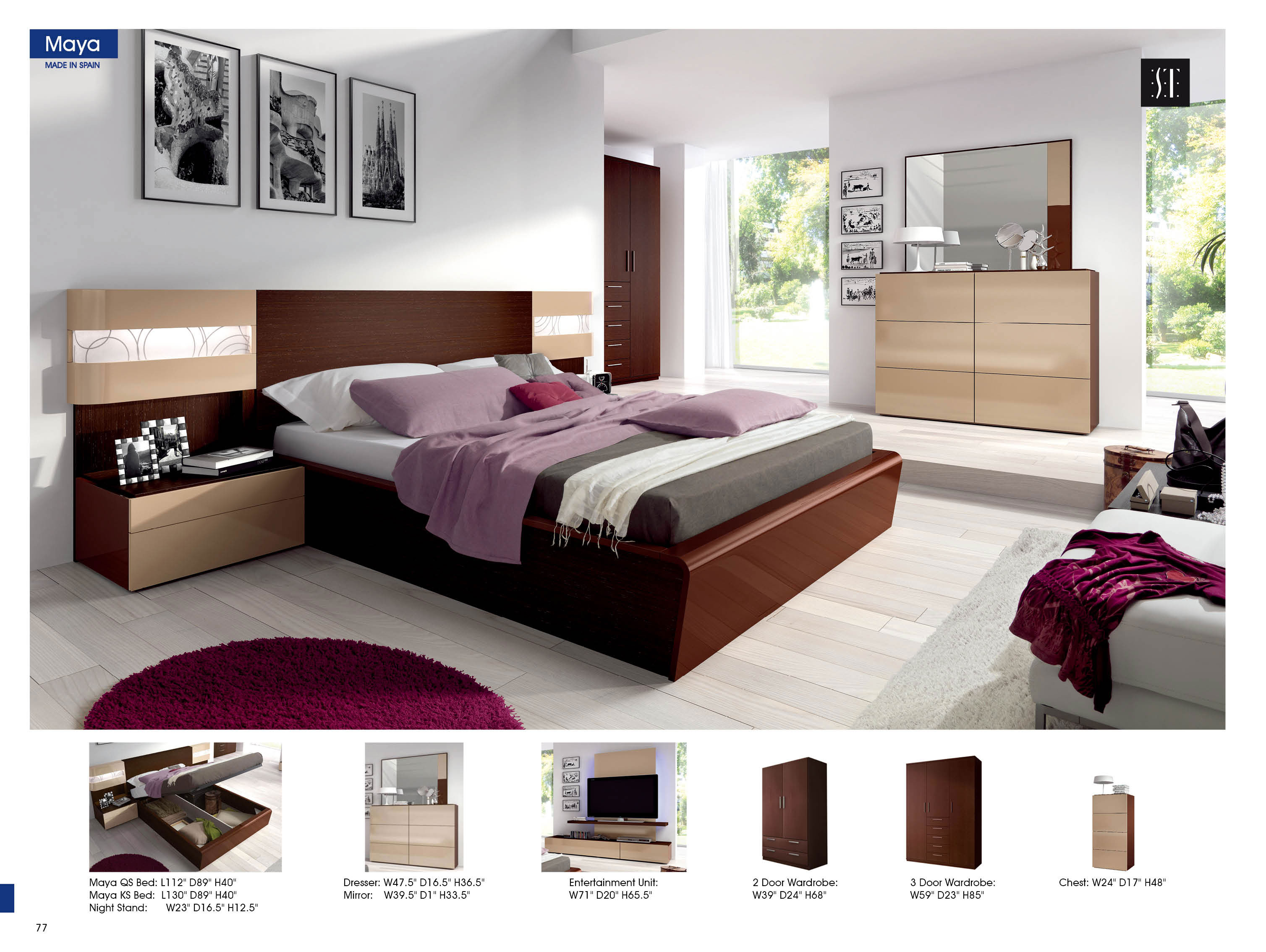 30 Off Maya Modern Bedrooms Bedroom Furniture