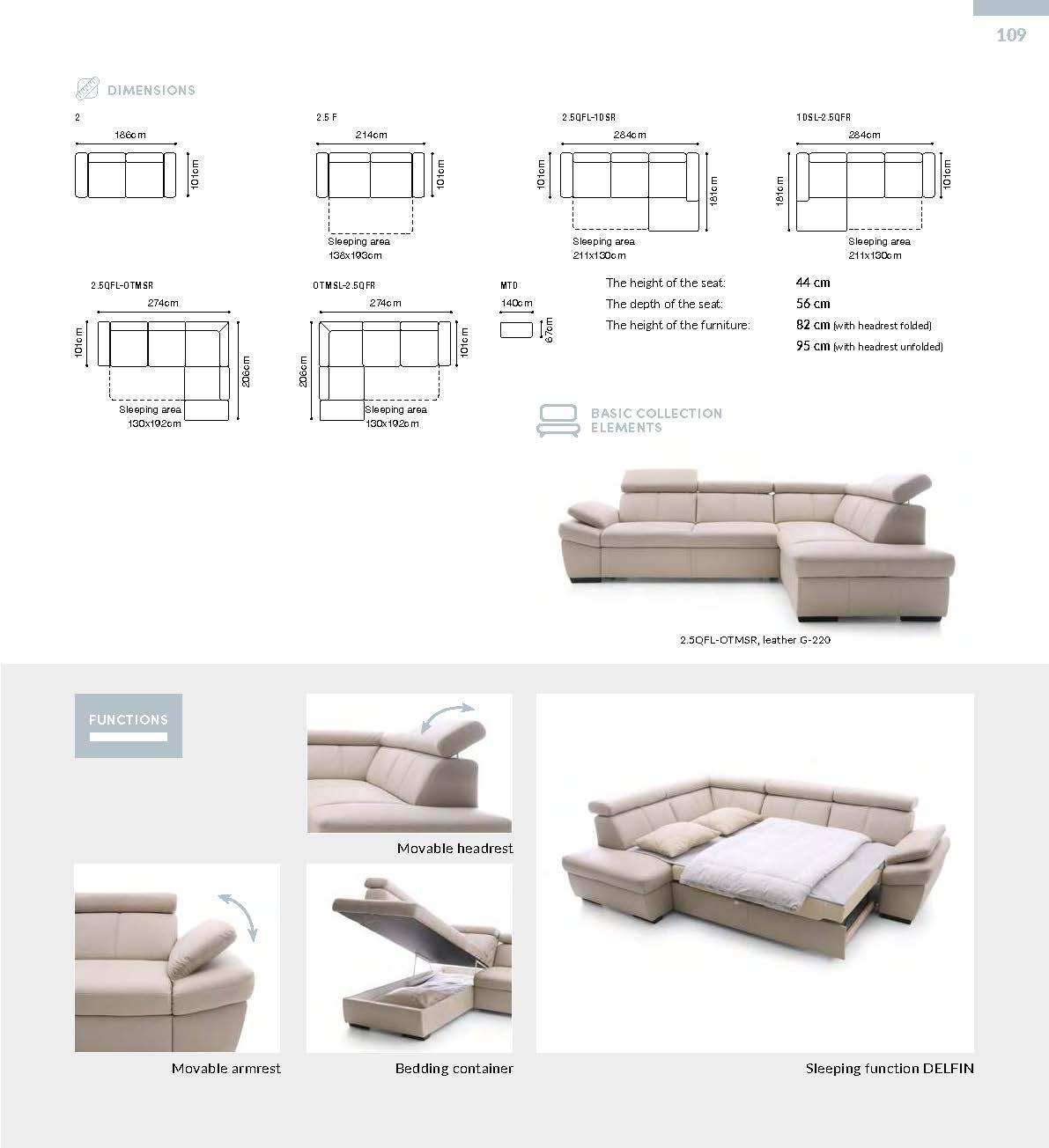 Salerno Sectionals Living Room Furniture