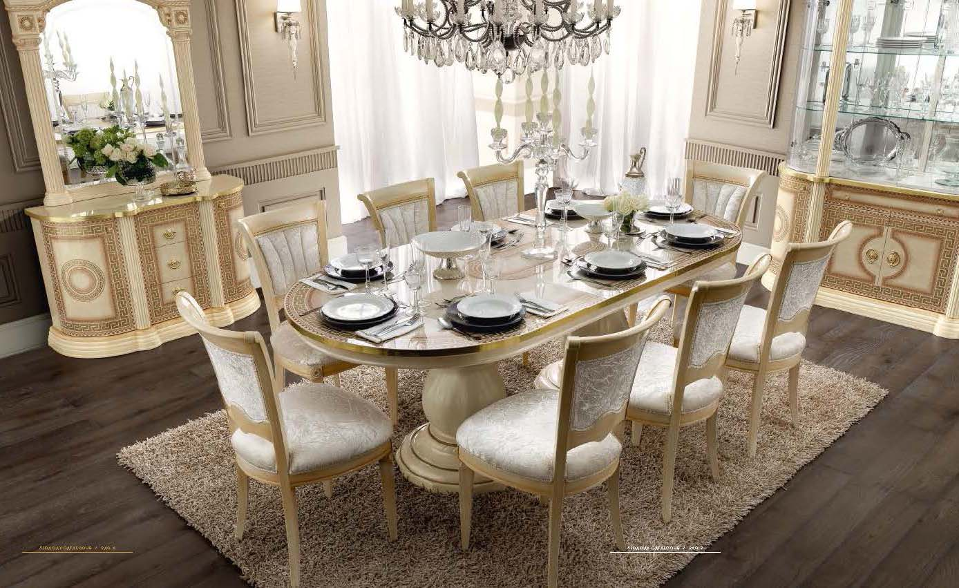Aida Dining, Classic Formal Dining Sets, Dining Room Furniture