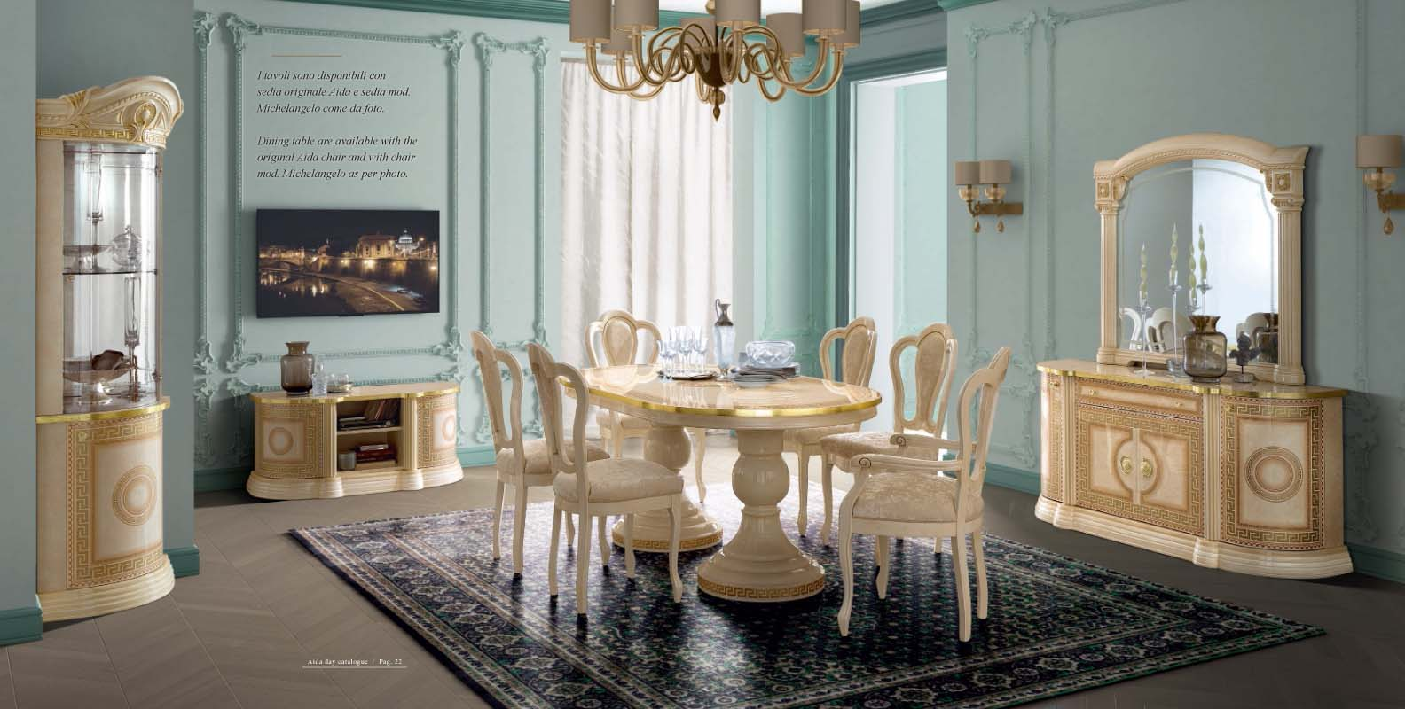 Aida dining classic formal dining sets dining room furniture Should living room furniture match dining room furniture