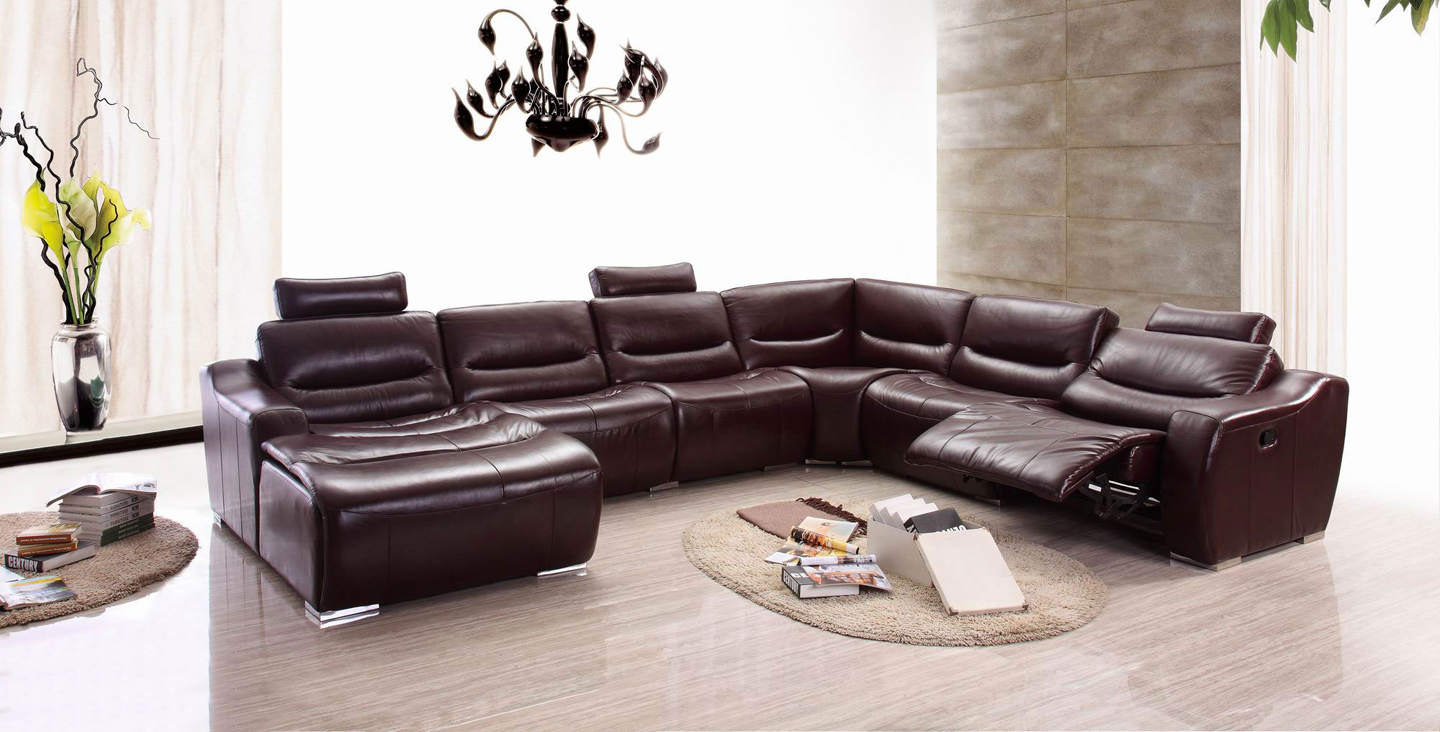 Living Room Furniture Recliners 2144 Sectional Left W Recliner