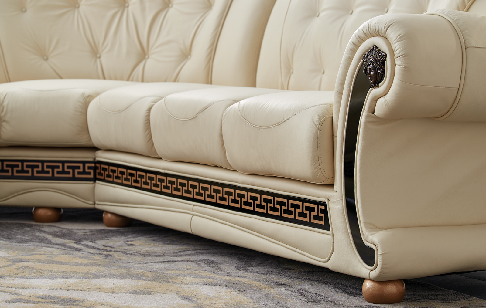 products at mjm piece ivory savesto furniture sectional