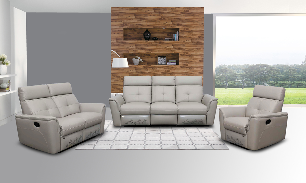 recliner living room sets. 8501 Recliner Light Grey  More Images and Dimensions Recliners Living Room Furniture