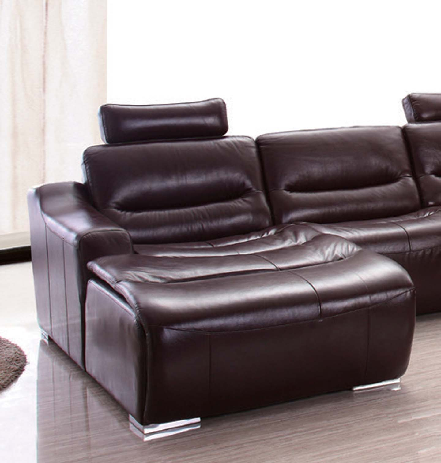 Sectional Sofas With Recliners: 2144 Sectional W/Recliner, Recliners, Living Room Furniture