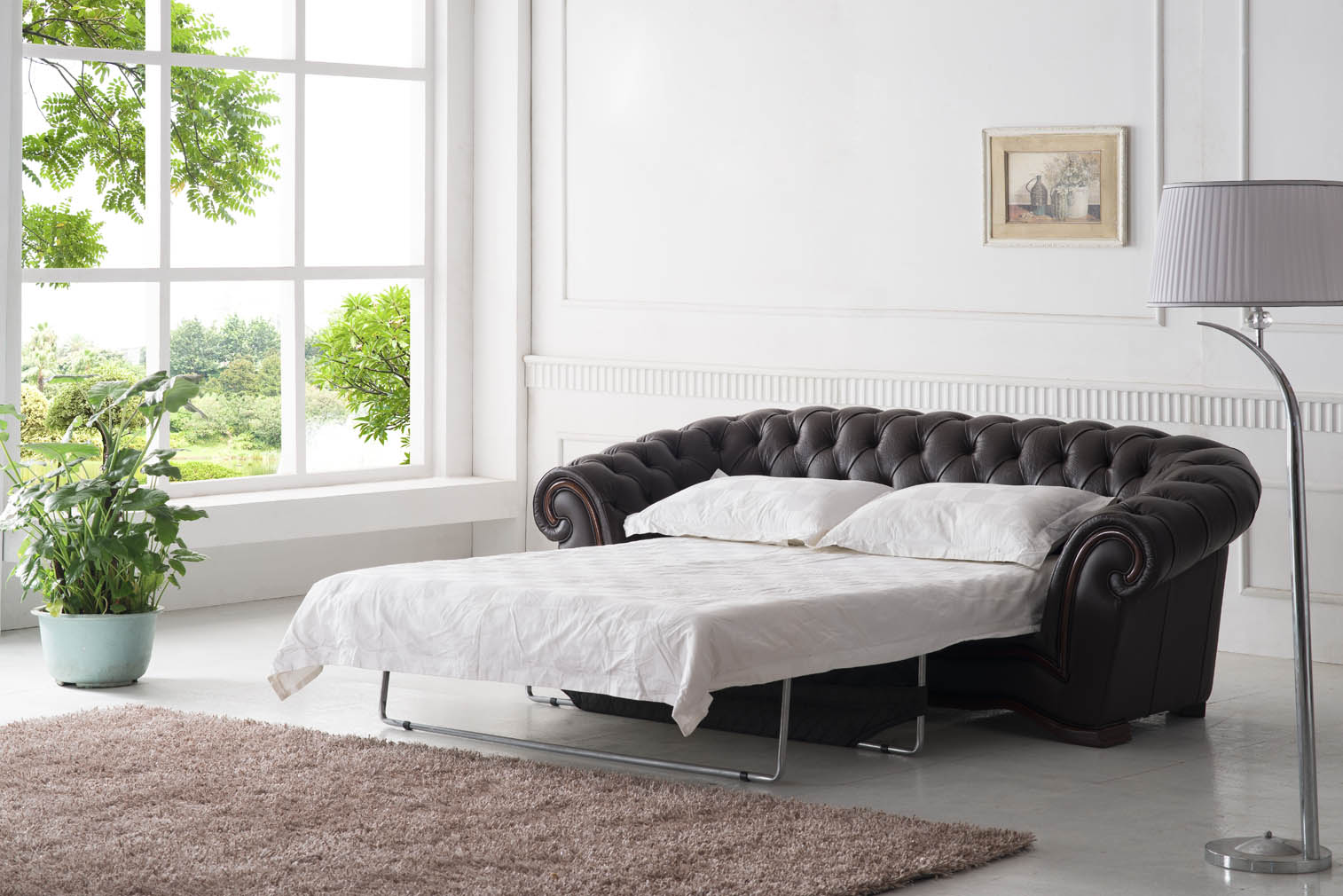 262 Full Leather, Sofa Beds, Living Room Furniture