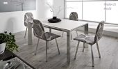 Collections Marcello Ibanez  Modern Dining, Spain Nadia 120 Table  & Ninfa Chair