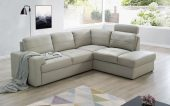 Living Room Furniture Sectionals with Sleepers Ella Sectional Right w/Bed & Storage
