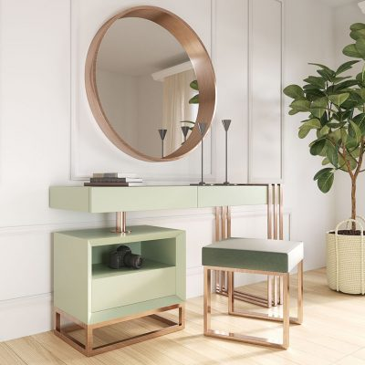Brands Franco Furniture New BELLA Vanity Chest NB06 Vanity Dresser