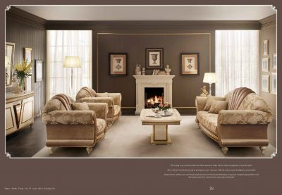 Brands Arredoclassic Living Room, Italy Fantasia