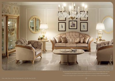 Brands Arredoclassic Living Room, Italy Melodia Lounge