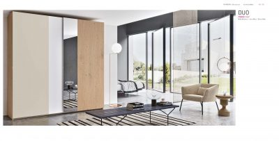 Brands Garcia Sabate, Modern Bedroom Spain YM502 Sliding Doors Wardrobe