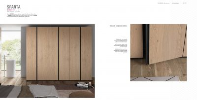 Brands Garcia Sabate, Modern Bedroom Spain YM510 Wardrobe