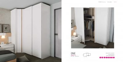 Brands Garcia Sabate, Modern Bedroom Spain YM520 Wardrobes