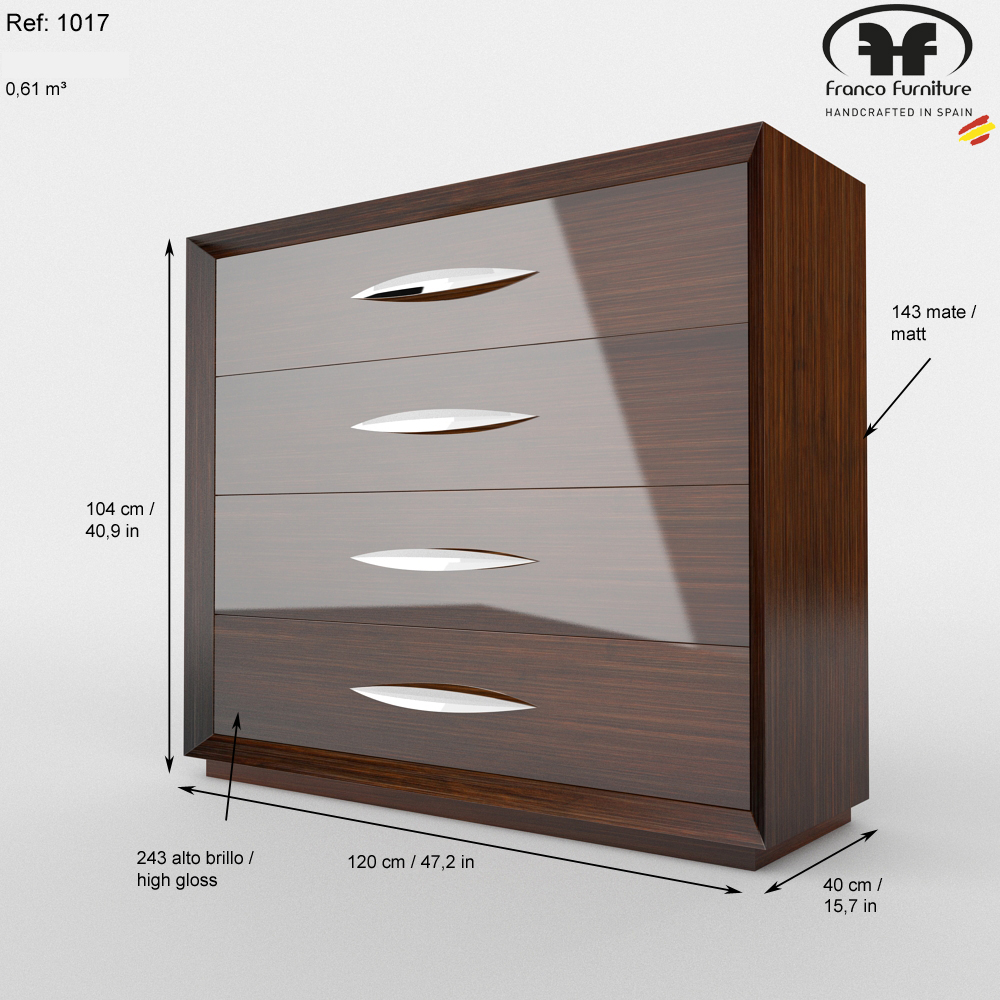 Carmen Dresser Chest Dressers And Chests Bedroom Furniture