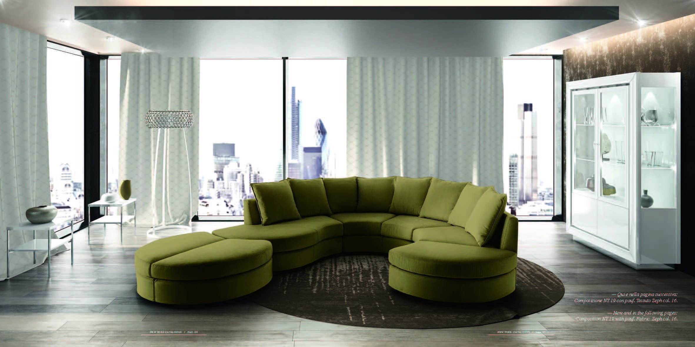 New York 2017 Camel Modern Living Rooms Italy Collections