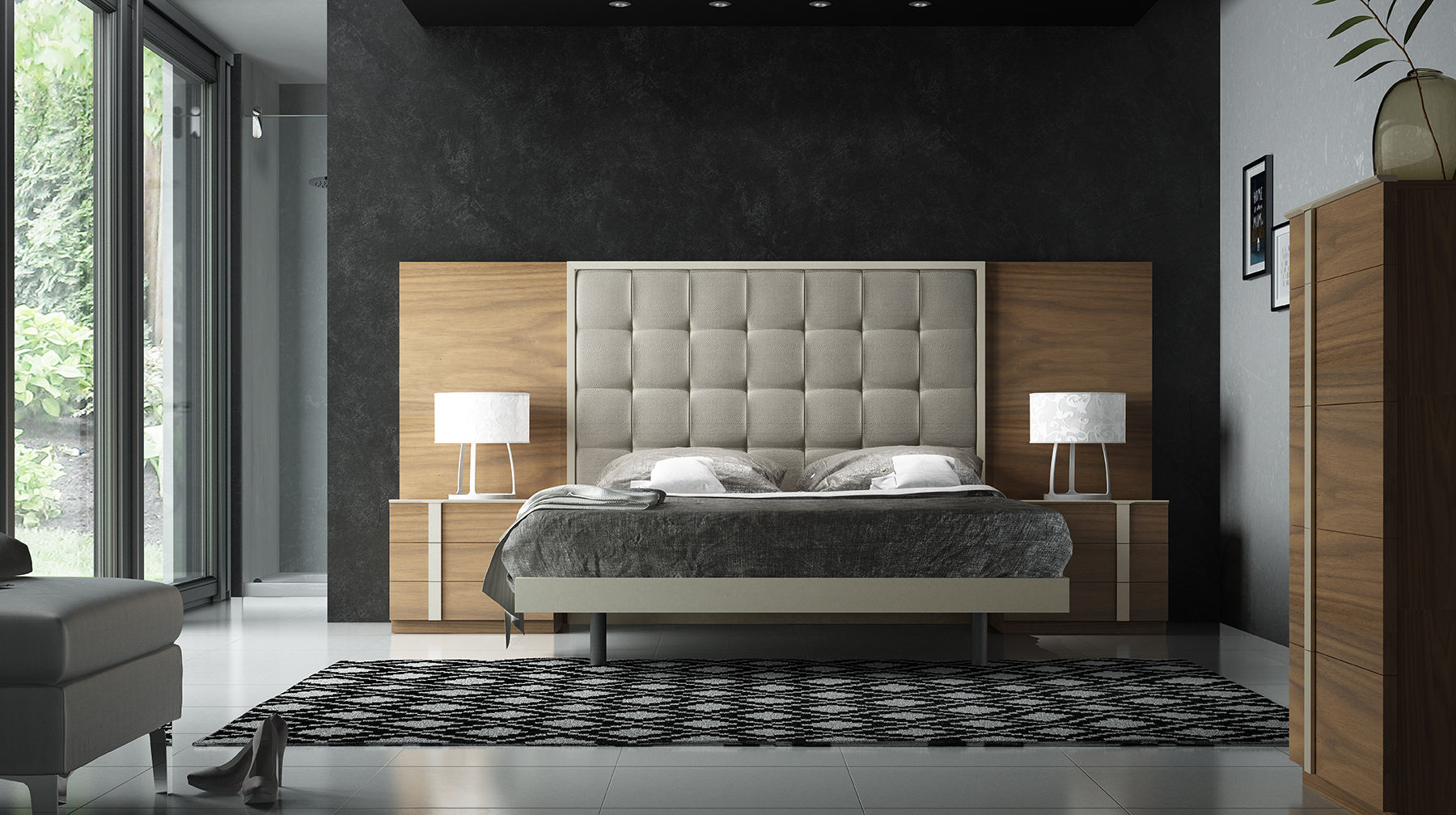 Fenicia Composition 36 / comp 600, Fenicia Modern Bedroom Sets ...