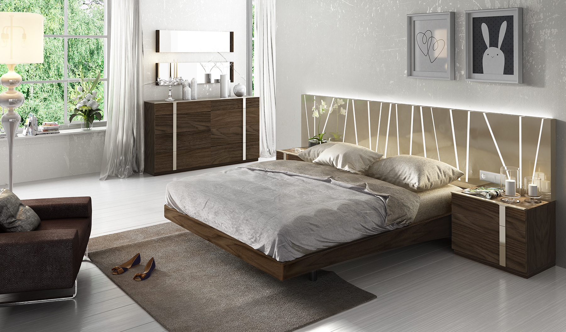 Fenicia Composition 4 / comp 606, Fenicia Modern Bedroom Sets, Spain ...