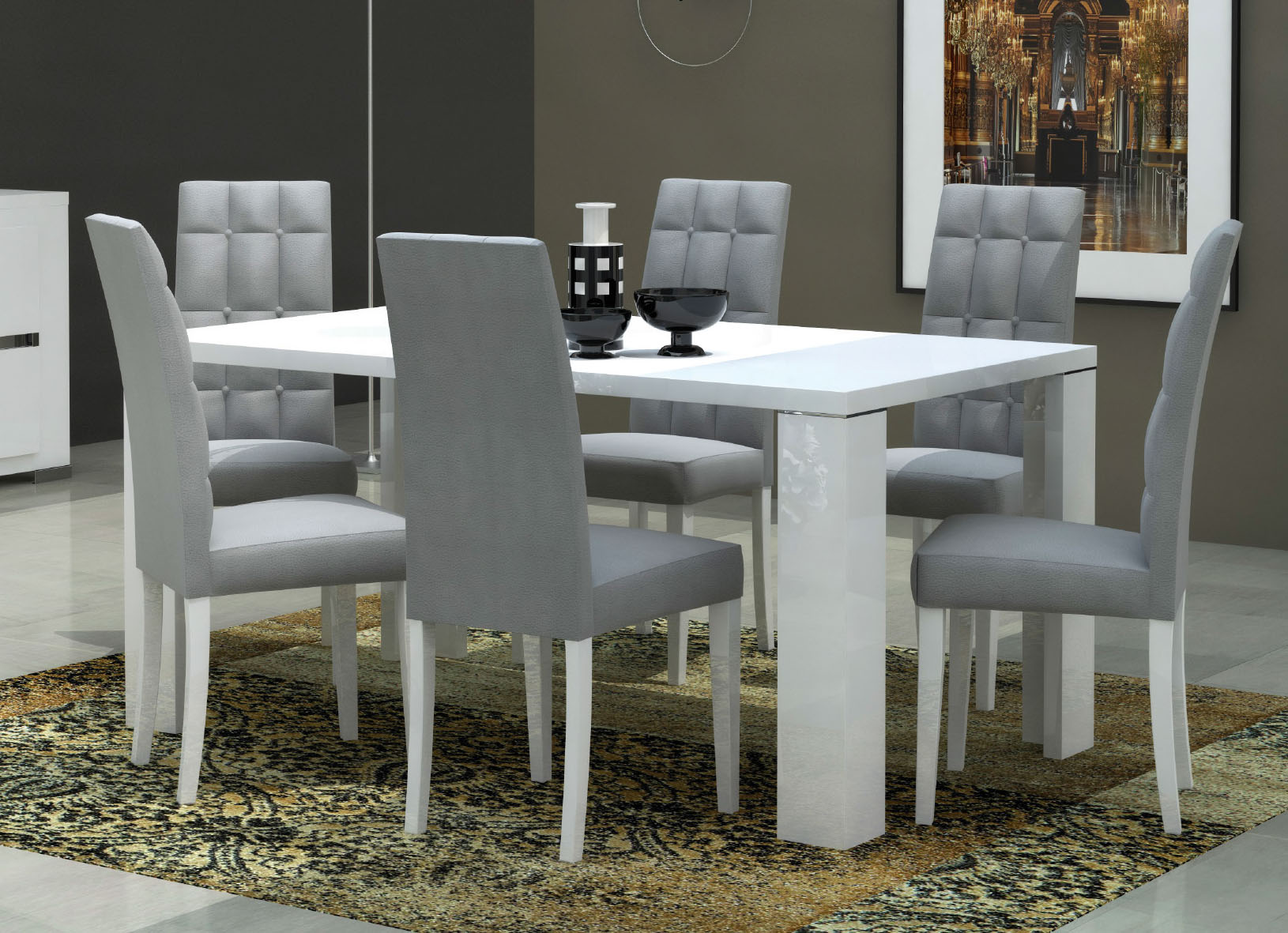 Elegance Dining Table W 20 Extension
